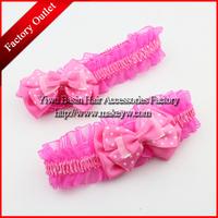 Free shipping 10pcs/lot Wholesale/Retail Beautiful flower kids headbands 2015 new hair bands for little girls Good head wrap