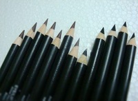 free shipping Make-up artist dedicated pencil eyeliner black / brown 100pcs