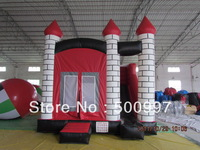 Free shipping Inflatable red bouncer with slide, inflatable slide, inflatable product, inflatable combo