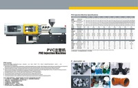 218T UPVC injection molding Machine/ 200T PVC machine/ PVC machine