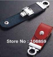 White/ Black/ Blue/ Brown Colour Leather usb fash memory 8gb 4gb 2gb 1gb Free shipping /Logo usb