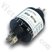 3 ways 14A,OD32mm,Plug Straightly Slip Rings H3+,Mercury free