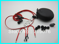 Top quality 3.5MM In-ear earphone with mic Super bass headphone with control talk for iphone toured MP3/MP4 with ear hook