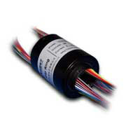 15mm inner hole,OD32.6mm,Length 26.7mm,12 way 2A Mini Through-Bores Slip rings (VSR-TC15-12)