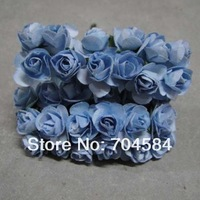 Free shipping Mulburrey Blue Artificial Flowers Home Decor 144pcs/lot