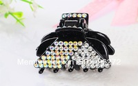 2014  Fashion  Bright Rhinestone Crystal Hair clips Hair Jewelry Accessories For Women  Free Shipping