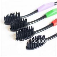 4pcs/Set Korea Bamboo Charcoal Toothbrush Free Ship