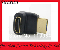Free shipping high quality HDMi to HDMI adapter/male to female Angel adapter