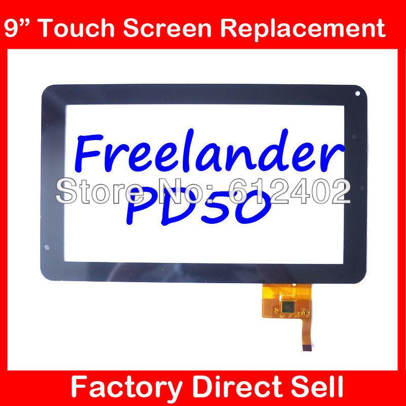 Freelander 9inch pd50 pd60 allwinner a13 capacitance screen handwritten screen multi point touch screen OPD-TPC0027(China (Mainland))