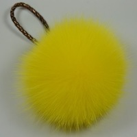 Mobile phones accessories handbags hanging pendant drop hair bulb fox fur accessories fur pendant