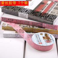 7 lace tape combination cutout pvc lace tape diy photo album tools