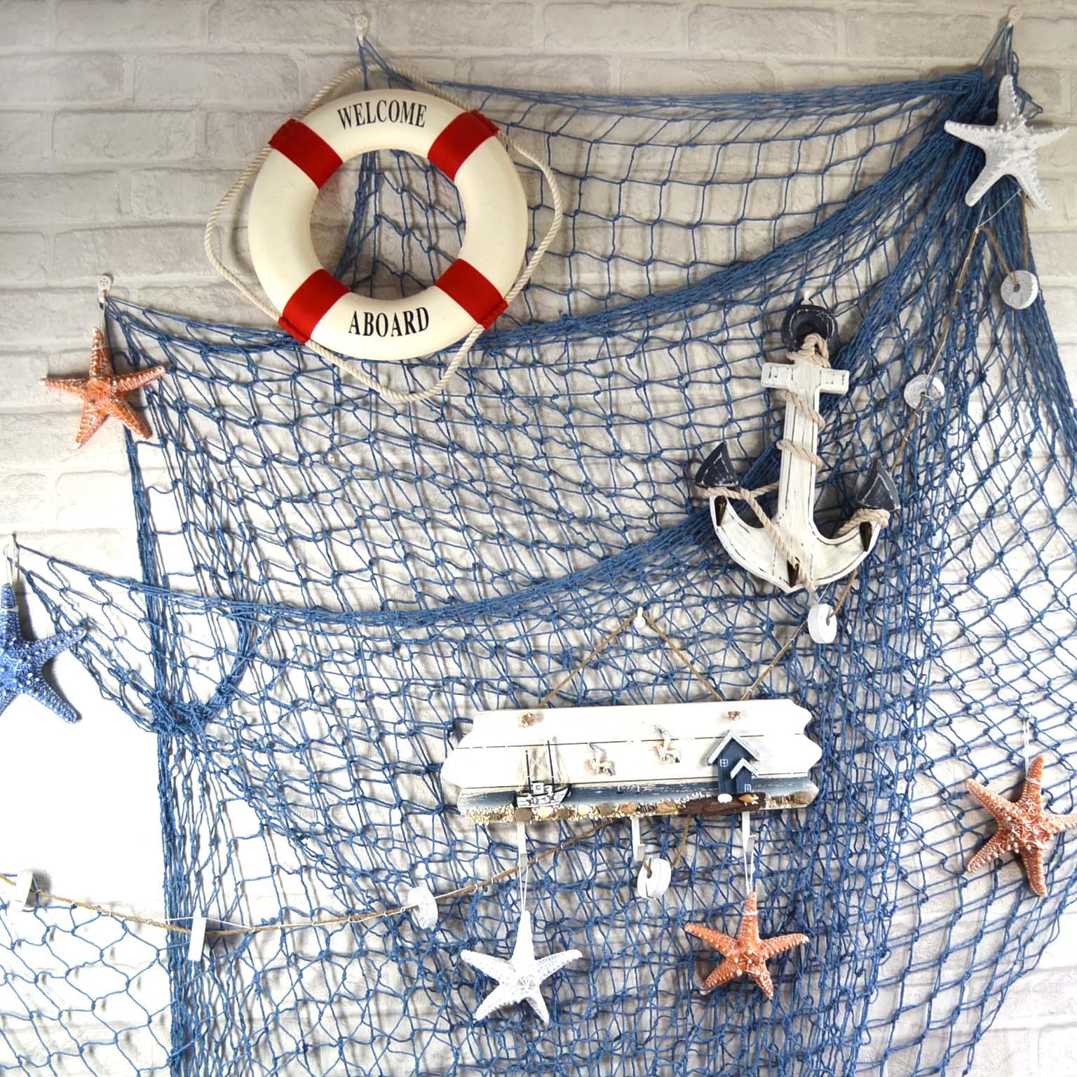 сеть рыболовная для стен