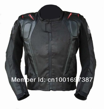 FreeShipping Oxford professional racing Jacket motorcycle Jacket with hump black jacket motorbike racing wear S M L XL XXL 3XL