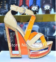 2013 summer ladies fashion high heel sandals platform women pump sandals designer luxury women's shoe pump sandals for women