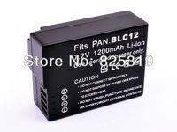 Battery for Panasonic DMW-BLC12 DMW-BLC12E DMW-BLC12GK DMW-BLC12PP DE-A808A DMW-BTC6 Lumix DMC-GH2 DMC-GH2EB DMC-GH2EC