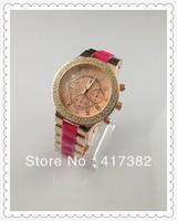 Big Brand Men women Wrist Watch Stainless Steel fashion Watch imported Quartz Movement Free Shipping