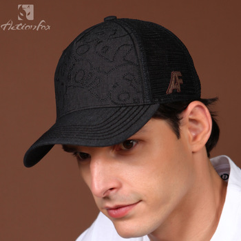 Actionfox summer male outdoor casual truck cap baseball cap mesh cap 1616