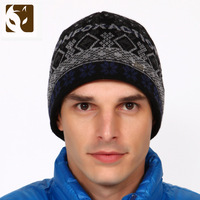 Actionfox fox Men knitted casual six hats 633 - 1901