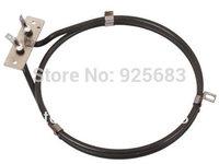 Single ring tubular heater for oven heating element