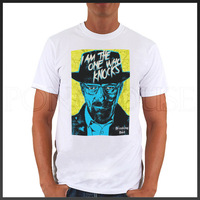 Breaking Bad COOK i am the one who knocks chemical drama  T-shirts Short Men