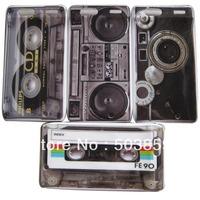 4pcs Audio Tape Hard Back Skin Case Cover For Motorola Droid Razr XT910 XT912