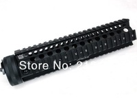 free shipping LaRue 10.0 inch Hand Guard Rail System for AEG M4/M16(Black)