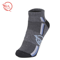 Coolmax breathable perspicuousness anti-odor thermal 100% cotton hiking socks outdoor sports sock  free