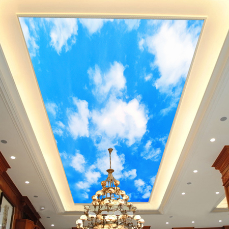Popular ceiling murals wallpaper from china best selling for Ceiling sky mural