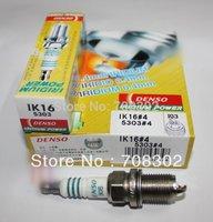 Free shipping Auto parts , DENSO IRIDIUM car spark plug IK16 for VW,KIA,MITSUBISHI,HYUNDAI,TOYOTA certified products