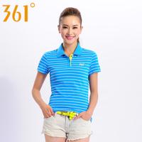 361 women's breathable short-sleeve polo shirt 561314111 T-shirt  wholesale