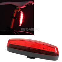 5 LED Flashlight Rear Tail Torch Back Light Lamp Red Bike Bicycle Cycling #gib