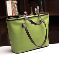 2013 women's handbag candy color fashion shoulder bag fashion vintage big bag free shipping