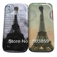 2pcs Paris Eiffel Tower Hard Back Case For Samsung Galaxy S4 mini i9190 case