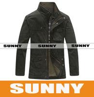 Men's business casual jacket collar 8271