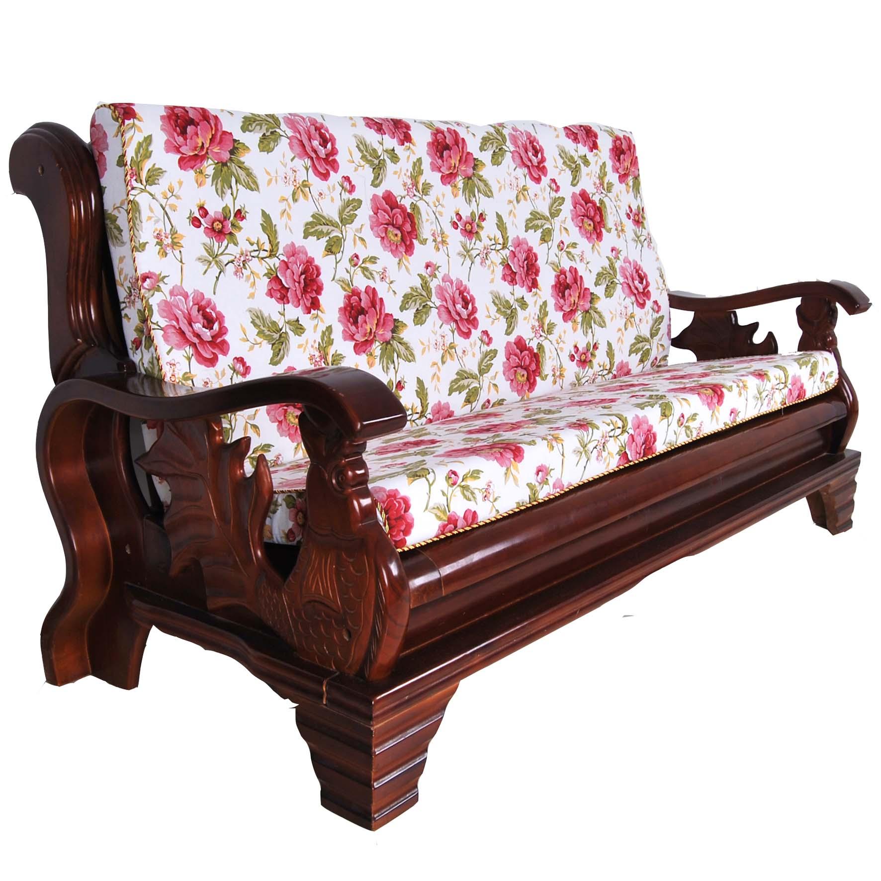Sofá de lã mogno mat pano grosso assento da cadeira de madeira  #A02B38 1772x1772