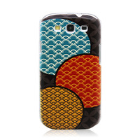 Superior Colorful Circle Pattern Case for Samsung GALAXY S4 i9500/S III i9300