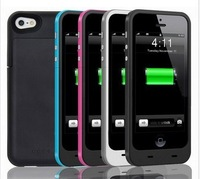 2300mah External Back Battery Case for iPhone 5, Portable Mobile Charger Backup Battery Case for iphone5
