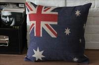 Australia Flag Cushion Cover Home Decor 1pcs 45 *45cm  Free Shipping