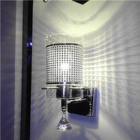 Free shipping Modern brief single-head bedside wall lamp bed-lighting style