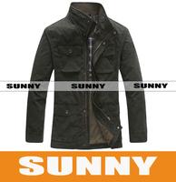 Men's business casual jacket collar 8273