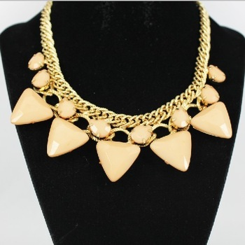 acrylic  rhinestone necklace / collar