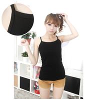 Free Shipping wholesale Candy color 2013 slim y spaghetti strap vest female all-match long design spaghetti strap basic