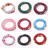 Professional chain agate tridacna chalcedony bracelet natural crystal accessories female