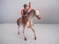 Free shipping horse model cowboy horse cowboy suit