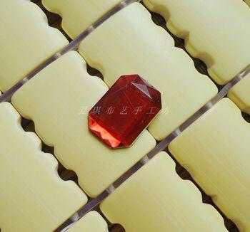 Diy clothes accessories falt bottom acrylic diamond rhinestone transparent sew-on drill 0.3