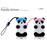 8GB cute cartoon panda model usb flash memory pen drive free shipping
