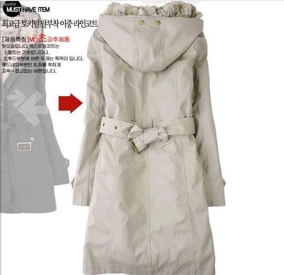 Зимнее пальто с подкладкой женское