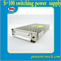 100W single output Switching Power Supply S-100/switch mode power supply manufacturer