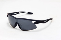 Brand new 2013 M Frame Sunglasses 9166   Matte Black Frame Black Lens men's classic glasses without MOQ  freeshipping !