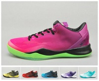 Free Shipping,2013 New KB8 8 SYSTEM MC Mambacurial FB Men Basketball Shoe,Men Athletic Shoe Brand Name,US Size 8~12